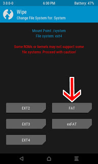 repair Failed To Mount System nubia Z18mini