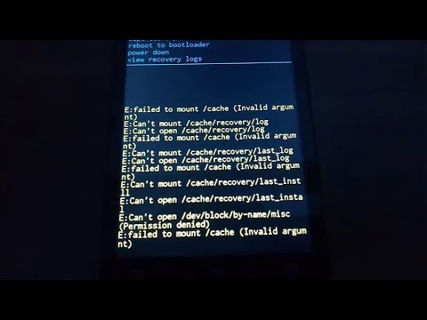 Pengalaman atasi masalah Failed To Mount System (Invalid Argument) pada nubia Z11 mini via TWRP