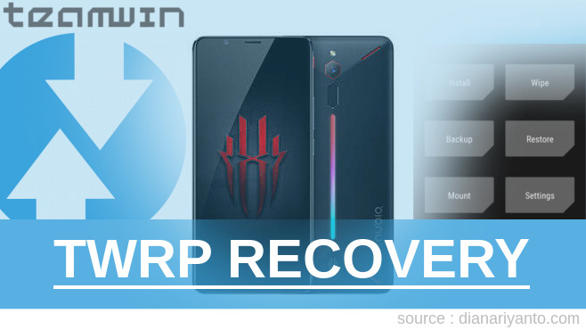 TWRP nubia Red Magic Paling Simpel